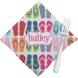 FlipFlop Napkins (Set of 4) (Personalized)