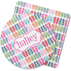 FlipFlop Rubber Backed Coaster (Personalized)