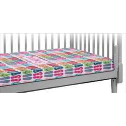 FlipFlop Crib Fitted Sheet (Personalized)