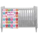 FlipFlop Crib Comforter / Quilt (Personalized)