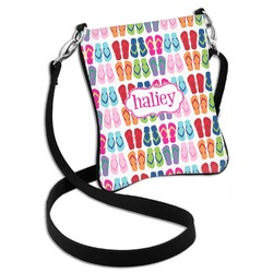 FlipFlop Cross Body Bag - 2 Sizes (Personalized)