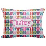 "FlipFlop Decorative Baby Pillowcase - 16""x12"" (Personalized)"