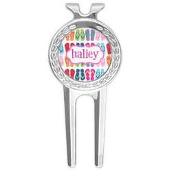FlipFlop Golf Divot Tool & Ball Marker (Personalized)