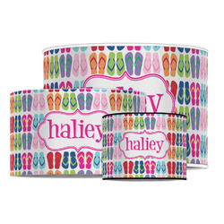 FlipFlop Drum Lamp Shade (Personalized)
