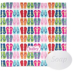 FlipFlop Wash Cloth (Personalized)