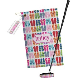 FlipFlop Golf Towel Gift Set (Personalized)