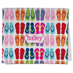 FlipFlop Kitchen Towel - Full Print (Personalized)
