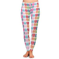 FlipFlop Ladies Leggings - Medium (Personalized)