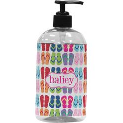FlipFlop Plastic Soap / Lotion Dispenser (16 oz - Large) (Personalized)