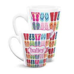 FlipFlop Latte Mug (Personalized)