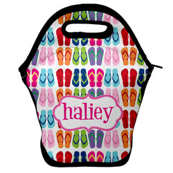FlipFlop Lunch Bag w/ Name or Text