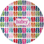 FlipFlop Melamine Plate (Personalized)
