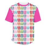 FlipFlop Men's Crew T-Shirt (Personalized)