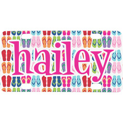 FlipFlop Mini / Bicycle License Plate (Personalized)