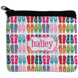 FlipFlop Rectangular Coin Purse (Personalized)