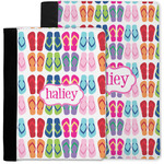 FlipFlop Notebook Padfolio w/ Name or Text