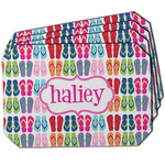FlipFlop Dining Table Mat - Octagon w/ Name or Text