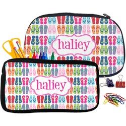FlipFlop Pencil / School Supplies Bag (Personalized)
