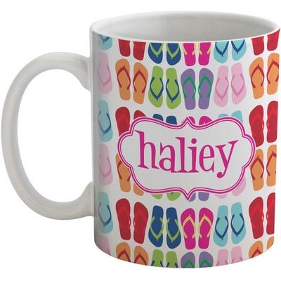 FlipFlop Coffee Mug (Personalized)