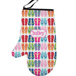 FlipFlop Left Oven Mitt (Personalized)