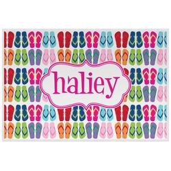 FlipFlop Placemat (Laminated) (Personalized)