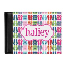 FlipFlop Genuine Leather Guest Book (Personalized)