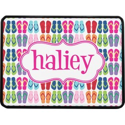 FlipFlop Rectangular Trailer Hitch Cover (Personalized)