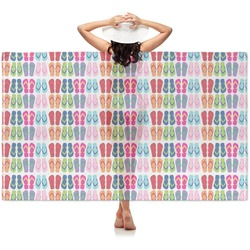 FlipFlop Sheer Sarong (Personalized)