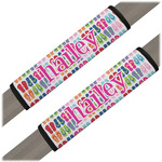 FlipFlop Seat Belt Covers (Set of 2) (Personalized)