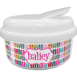 FlipFlop Snack Container (Personalized)