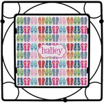 FlipFlop Square Trivet (Personalized)