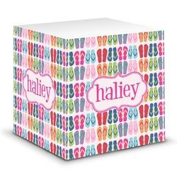 FlipFlop Sticky Note Cube (Personalized)