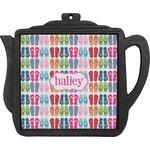 FlipFlop Teapot Trivet (Personalized)