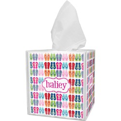 FlipFlop Tissue Box Cover (Personalized)