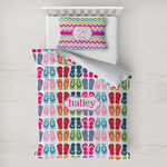 FlipFlop Toddler Bedding w/ Name or Text
