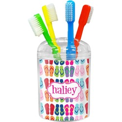 FlipFlop Toothbrush Holder (Personalized)