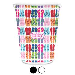 FlipFlop Waste Basket (Personalized)