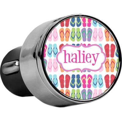 FlipFlop USB Car Charger (Personalized)