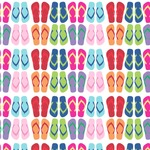 FlipFlop Wallpaper & Surface Covering