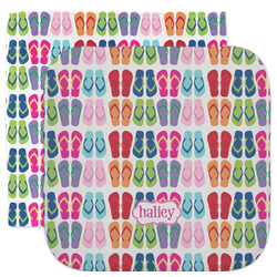 FlipFlop Facecloth / Wash Cloth (Personalized)