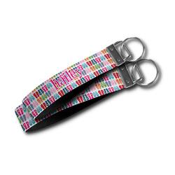 FlipFlop Wristlet Webbing Keychain Fob (Personalized)