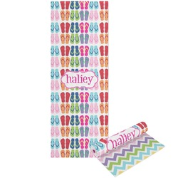 FlipFlop Yoga Mat - Printable Front and Back (Personalized)