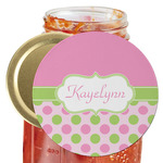 Pink & Green Dots Jar Opener (Personalized)