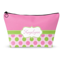 Pink & Green Dots Makeup Bags (Personalized)