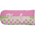 Pink & Green Dots Putter Cover (Personalized)