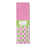 Pink & Green Dots Runner Rug - 3.66'x8' (Personalized)