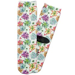 Succulents Adult Crew Socks (Personalized)