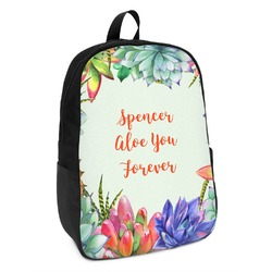 Succulents Kids Backpack (Personalized)