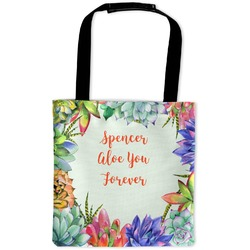 Succulents Auto Back Seat Organizer Bag (Personalized)