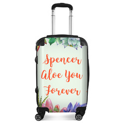 Succulents Suitcase (Personalized)
